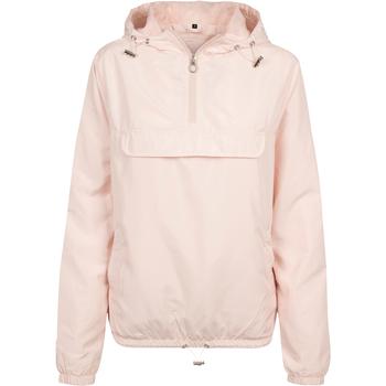 Abbigliamento Donna giacca a vento Build Your Brand BY095 Rosa