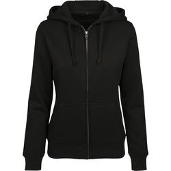 Abbigliamento Donna Felpe Build Your Brand BY088 Nero
