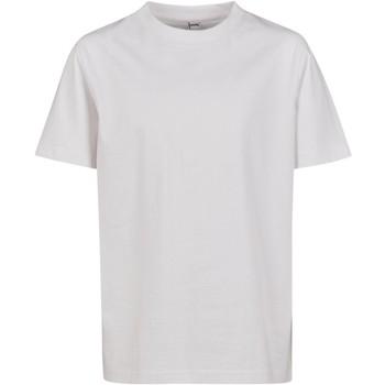 Abbigliamento Unisex bambino T-shirt maniche corte Build Your Brand BY116 Bianco