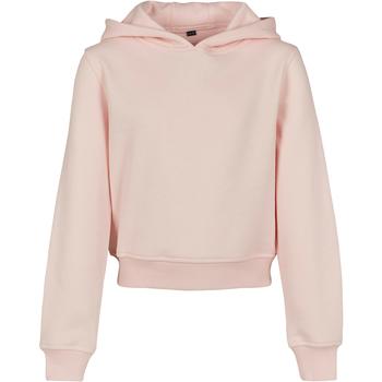 Abbigliamento Bambina Felpe Build Your Brand BY113 Rosa