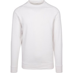 Abbigliamento Uomo Felpe Build Your Brand BY094 Bianco