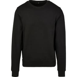 Abbigliamento Uomo Felpe Build Your Brand BY119 Nero