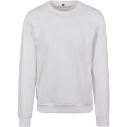 Abbigliamento Uomo Felpe Build Your Brand BY119 Bianco