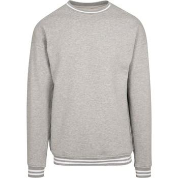 Abbigliamento Uomo Felpe Build Your Brand BY104 Grigio/Bianco