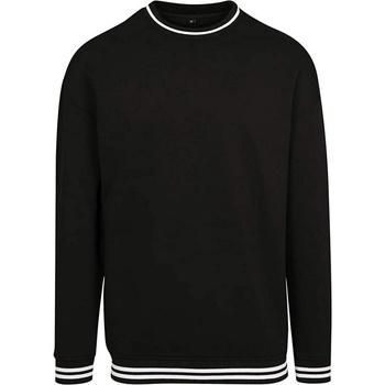 Abbigliamento Uomo Felpe Build Your Brand BY104 Nero/Bianco