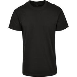 Abbigliamento T-shirt maniche corte Build Your Brand BY123 Nero