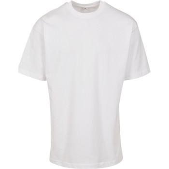 Abbigliamento T-shirt maniche corte Build Your Brand BY122 Bianco