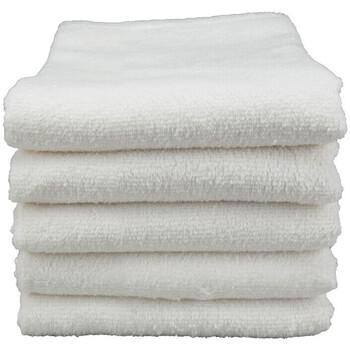 Casa Asciugamano e guanto esfoliante A&r Towels Taille unique Bianco