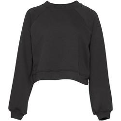 Abbigliamento Donna Felpe Bella + Canvas BE134 Grigio scuro