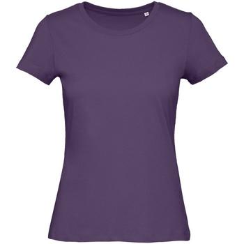 Abbigliamento Donna T-shirt maniche corte B&c B118F Viola