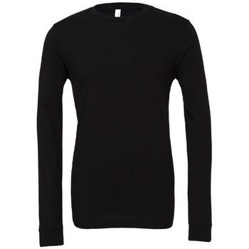 Abbigliamento T-shirts a maniche lunghe Bella + Canvas BE044 Nero