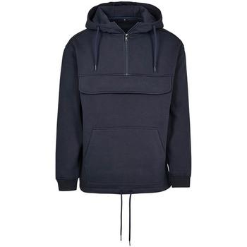 Abbigliamento Felpe Build Your Brand BY098 Blu navy