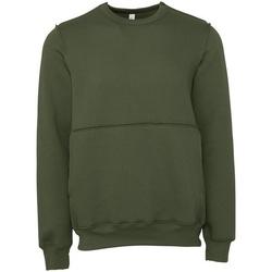 Abbigliamento Felpe Bella + Canvas BE133 Verde