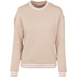 Abbigliamento Donna Felpe Build Your Brand BY105 Rosso