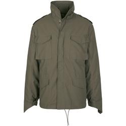 Abbigliamento Uomo Giacche Build Your Brand BD308 Verde