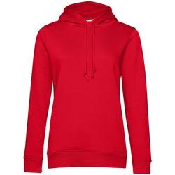 Abbigliamento Donna Felpe B&c  Rosso