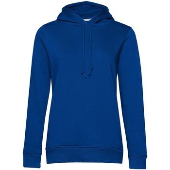 Abbigliamento Donna Felpe B&c  Blu reale