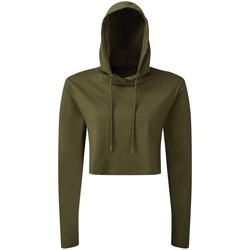 Abbigliamento Donna Felpe Tridri TR088 Verde
