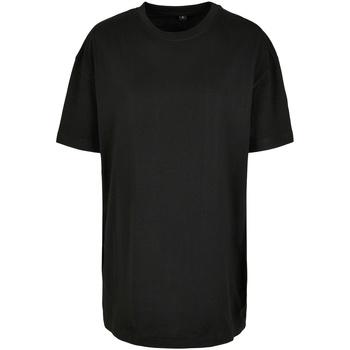 Abbigliamento Donna T-shirt maniche corte Build Your Brand BY149 Nero