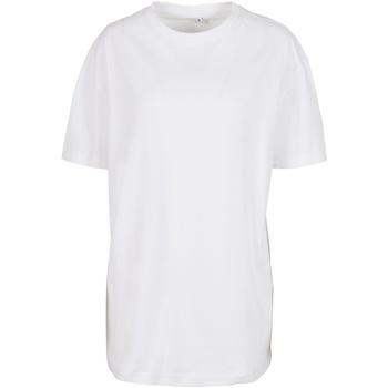 Abbigliamento Donna T-shirt maniche corte Build Your Brand BY149 Bianco