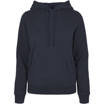 Abbigliamento Donna Felpe Build Your Brand BB007 Blu navy