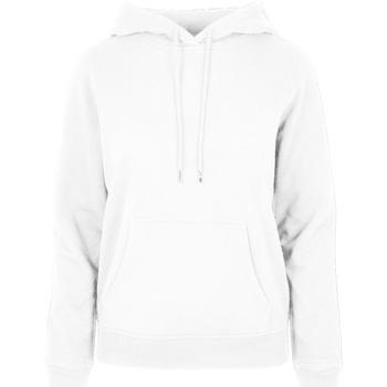 Abbigliamento Donna Felpe Build Your Brand BB007 Bianco