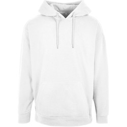 Abbigliamento Uomo Felpe Build Your Brand BB006 Bianco