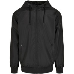 Abbigliamento Uomo Giacche Build Your Brand BY151 Nero