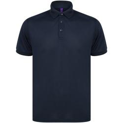 Abbigliamento Polo maniche corte Henbury HB465 Blu navy