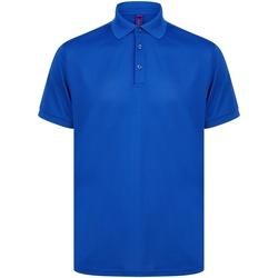 Abbigliamento Polo maniche corte Henbury HB465 Blu reale