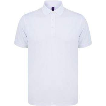 Abbigliamento Polo maniche corte Henbury HB465 Bianco