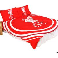 Casa Unisex bambino Copripiumino Liverpool Fc Double SG14153 Rosso