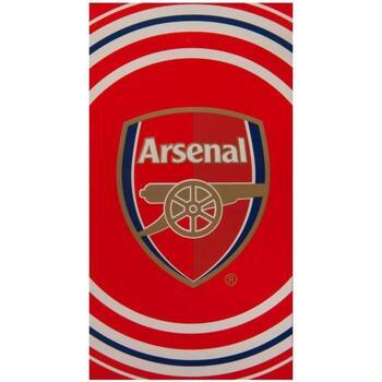 Casa Asciugamano e guanto esfoliante Arsenal Fc Taille unique Rosso