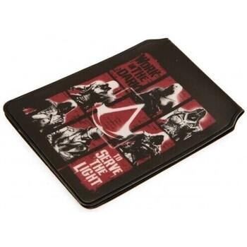 Borse Portafogli Assassins Creed  Nero/Rosso