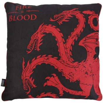 Casa cuscini Game Of Thrones Taille unique Nero/Rosso