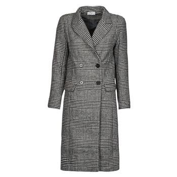 Abbigliamento Donna Cappotti Betty London PIXIE Nero / Grigio