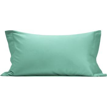 Casa Federa cuscino, testata Vanita' Di Raso OTR780858 VERDE ACQUA