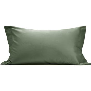 Casa Federa cuscino, testata Vanita' Di Raso OTR819455 VERDE OLIVA