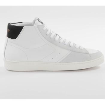 Scarpe Uomo Sneakers alte Schmoove Graf mid cut Bianca