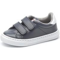 Scarpe Bambina Sneakers basse Cienta Chaussures fille  Deportivo Scractch Piel bleu marine