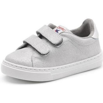 Scarpe Bambina Sneakers basse Cienta Chaussures fille  Deportivo Scractch Glitter gris clair