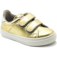 Scarpe Bambina Sneakers basse Cienta Chaussures fille  Deportivo Scractch Laminado doré