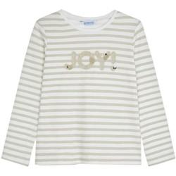 Abbigliamento Bambina T-shirts a maniche lunghe Mayoral  Beige