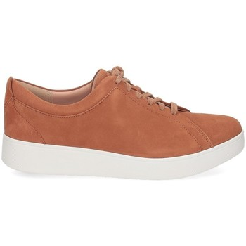 Scarpe Donna Sneakers basse FitFlop Rally suede sneaker light tan CUOIO
