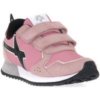 Scarpe Bambina Sneakers W6yz 0M03 JET VL J GLITTER ROSE Rosa