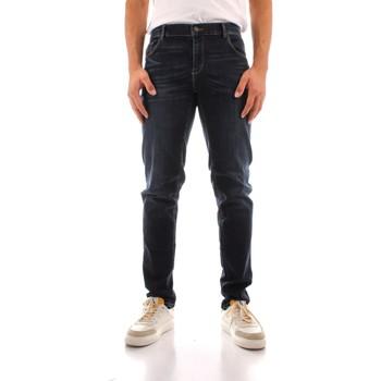 Abbigliamento Uomo Jeans dritti Trussardi 52J00000 1Y000186 BLU NAVY