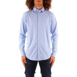 Abbigliamento Uomo Camicie maniche lunghe Trussardi 52C00216 1T004966 BLU