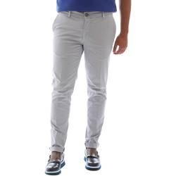 Abbigliamento Uomo Pantaloni Sei3sei 6OYSTER E1648 Grigio