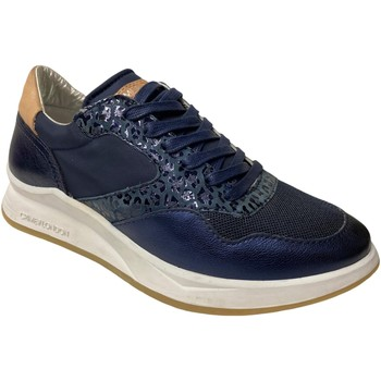 Scarpe Donna Sneakers Crime London ATRMPN-29681 Blu