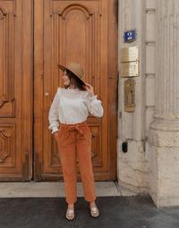 Abbigliamento Donna Pantaloni 5 tasche Céleste MARRONNIER Camel